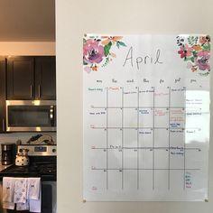 2020 Printable Calendar 2020 Large Wall Calendar 2020 Big | Etsy Chalkboard Wall Calendars, Large Wall Calendar, Kids Calendar, Calendar Pages, Desk Calendars, Calendar Design, Monthly Planner Printable, Printable Calendar Template, Printables