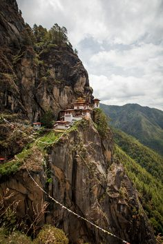 travelingcolors:  Tiger's Nest | Bhutan (by by Adam Brill)