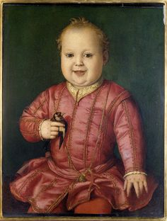 Agnolo Bronzino  Giovanni de Medici as a child 1545  Florence, Uffizi