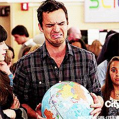 He isn't afraid to show his emotions. | 37 Reasons Nick Miller Is The Perfect Crush