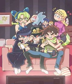 Bizarre Art, Jojo Bizarre, Jojo's Bizarre Adventure, Otaku, Manga Anime, Anime Art, Johnny Joestar, Jotaro Kujo, Jojo Memes