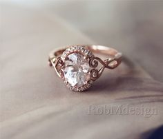 New Design Christmas Discount 1.65ct Oval Cut 79mm by RobMdesign