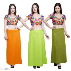 Checkout this latest Petticoats Product Name: *Trendy Cotton Women's Petticoat Combo (Set Of 3)* Fabric: Cotton Size: Up to 34in to 42 in Hip Round - 44 In Length - 38 In Flair From Bottom - 78 In Pattern: Solid Description: It has 3 Piece Of Petticoat  Country of Origin: India Easy Returns Available In Case Of Any Issue   Catalog Rating: ★4 (454)  Catalog Name: Solid Cotton Petticoats Combo CatalogID_15359 C74-SC1019 Code: 025-154225-9461