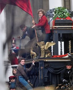 ....Marius looks like he's wetting himself while Enjolras just looks incredibly confused. XD