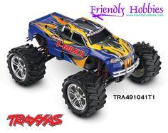 Traxxas 1/10 T-Maxx 4WD Nitro Monster Truck Blue, Black, Red, White - $384.99