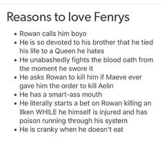 Fenrys is my favorite :D