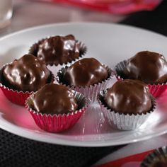 Chocolate Peanut Butter Rice Krispy Balls