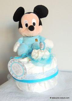 Gâteau de couches garçon