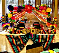 Our sweetheart table, loteria and cinco de mayo themed wedding.