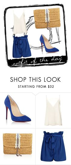 """""""Cool nights"""" by val-lovdecor on Polyvore featuring Mode, Christian Louboutin, Anine Bing, Fallon & Royce, Boohoo und Tim Holtz"""