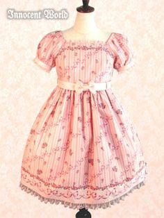 Innocent World - OP - Berangere Rose OP /// ¥22,890 /// Bust:  87-119.5 Waist:  69-100 Length:  93cm (includes 3cm of lace)