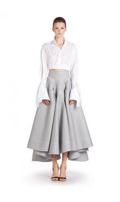 Toni Maticevski - Atomic Full Skirt - RESORT 16 - Shop Collections