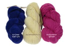 More colors from LAINE ET TRICOT in France! Just CHIC! #AbuelitaYarns