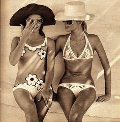 Coffee and Cashmere: fashion 1970's swimwear