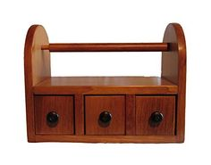 Small Wooden Projects, Scrap Wood Projects, Woodworking Projects, Wooden Rack, Wooden Crates, Wooden Paper Towel Holder, Kitchen Drawer Organization, Amish Furniture, Wooden Kitchen