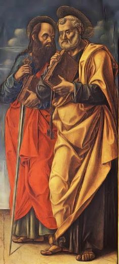 Saints Peter & Paul by Bartolomeo Vivarini