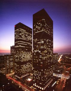 Tagged: 1985, arco and b of a towers, downtown los angeles, los angeles, california.