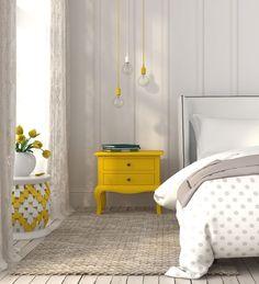 Sur du petit mobilier : Faites entrer la couleur dans votre intérieur - Sur du petit mobilier