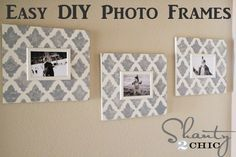 The blog Shanty-2-Chic did a project with the #TurkishTulip #stencil from #CuttingEdgeStencils! These frames are so gorgeous!