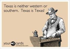 For everyone who thinks Texas is the South, you're wrong.