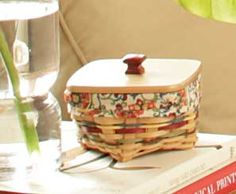 New Longaberger Basket! Spice Market Small Twist. And there is a large version too!