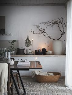 Image via Daniella Witte | Scandinavian Design Interior Living | #scandinavian #interior