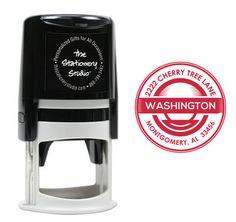 Washington Self Inking Stamper
