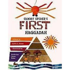 Sammy Spider's First Haggadah (Paperback) (Sylvia A. Rouss) : Target
