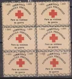 Portugal Charity Red Cross Stamps.