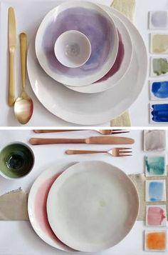 Image result for watercolor ceramics australia