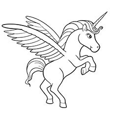 Unicorn Printable PDF Coloring Page | Stuff for the kiddos ...