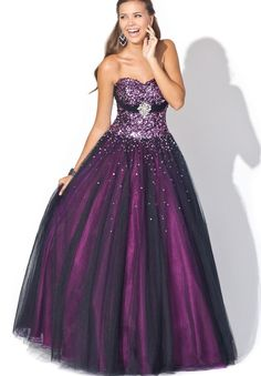 Google Image Result for http://2.bp.blogspot.com/-ZY3AxoqDMYM/UMgvsiKdWwI/AAAAAAAAA3o/rTvB_647tHM/s1600/organza-strapless-sweetheart-ball-gown-long-prom-dress.jpg Too dark for me but pretty.
