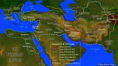 The Persian Empire timeline under Cyrus The Great reign and others. So impressive when you take into account how long ago this was and how much they overcame without the advantages of what we have today.