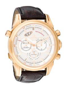 Omega De Ville Rattrapante Chronograph Watch