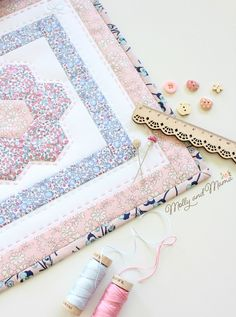 The Flora Mini Quilt Tutorial - Molly and Mama