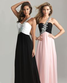 prom dresses with one sleeve | ... One Shoulder Prom Dress - Unique Vintage - Prom dresses, retro dresses