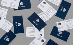 50 Business Cards on Behance by Anagrama