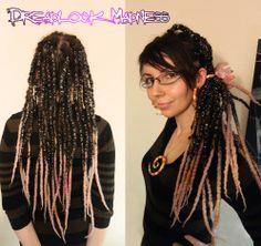 #dreads #dreadlocks #wool #roving #fairy #boho #hippie #ozora #burning #man #goth #rave #tribal