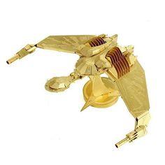 Piece Fun 3D Movie Star Trek Uss Enterprise Klingon Vorcha Bird of Prey ENTERPRISE NCC Metal Puzzle Adult Models Educational Toy
