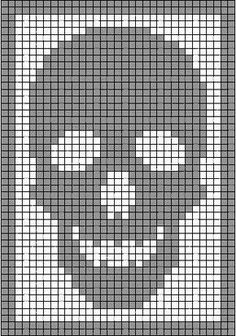 Punisher skull $5 (With images) | Cross stitch patterns