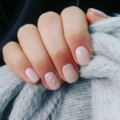 Can't resist a cozy sweater? Then you'll love this cozy, sweater-inspired manicure.