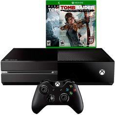 Americanas Console Xbox One 1TB + 2 Jogos Tomb Raider + 1 Controle sem Fio - R$2.024,00