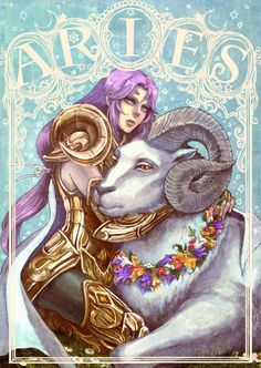 Aries ~ of power and grace