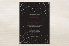 Science, Math, Pop Culture!: Nerdy wedding invitations | Offbeat Bride