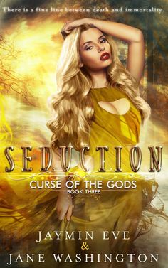 Cover reveal! Seduction (Curse of the Gods book three)