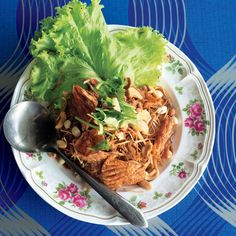 Pomelo Salad with Chile, Lime, Peanuts, and Coconut