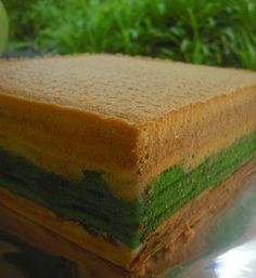 Prune with Cashew Nut Layered Cake - Bisous À Toi Layer Cake Recipes, Layer Cakes, Thousand Layer Cake, Pandan Cake, Asian Snacks, Crochet For Kids, Baking Recipes, Layers, Tarts