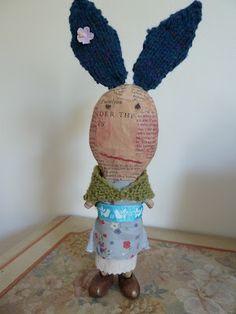 Newspaper doll @Matty Chuah Crafte Nook