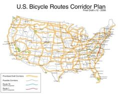 someday i am going to take one of these routes and bike across america