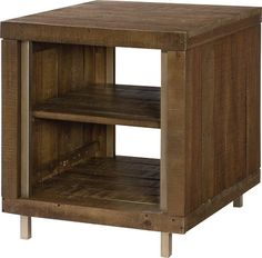 Flashback Rectangular End Table $369 @ gage